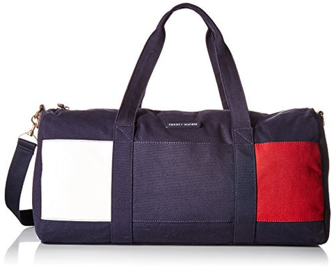 Tommy Hilfiger Duffle for Women Flag Canvas, Navy