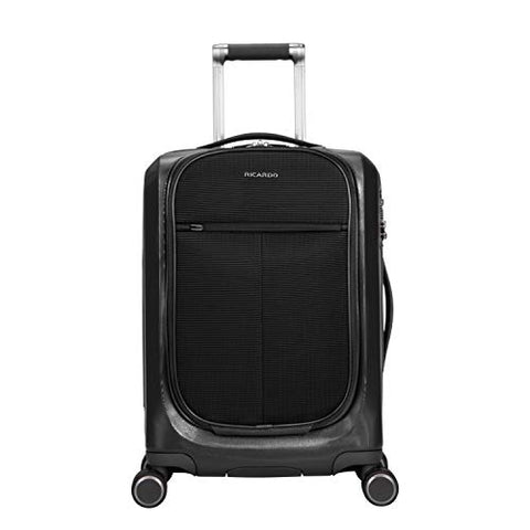 Ricardo Cupertino 20-inch Spinner Carry-On in Black