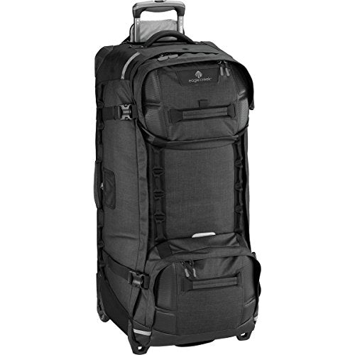 "Eagle Creek Orv Trunk 36"" Wheeled Upright Duffel Luggage Asphalt Black"