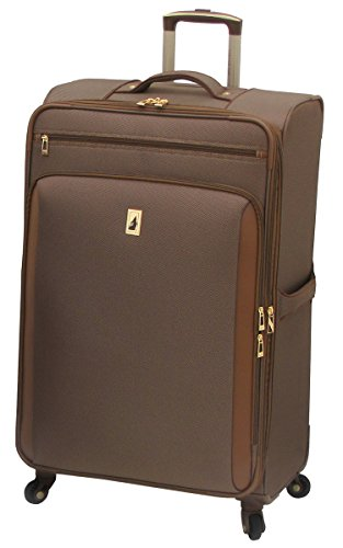 London Fog Kensington 29 Inch Expandable Spinner, Bronze