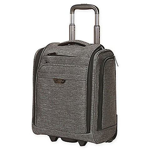 The grey Ricardo Beverly Hills Malibu Bay Rolling underseater spinner luggage