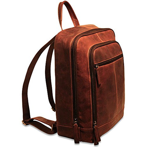Jack Georges Voyager Collection Backpack (Brown)