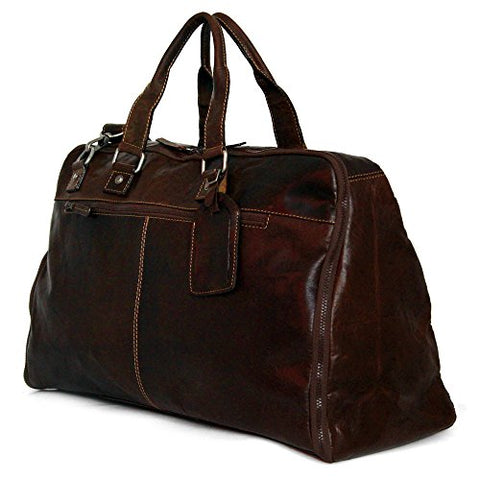 Jack Georges Voyager Large Convertible Duffel/Garment Cover (Brown)