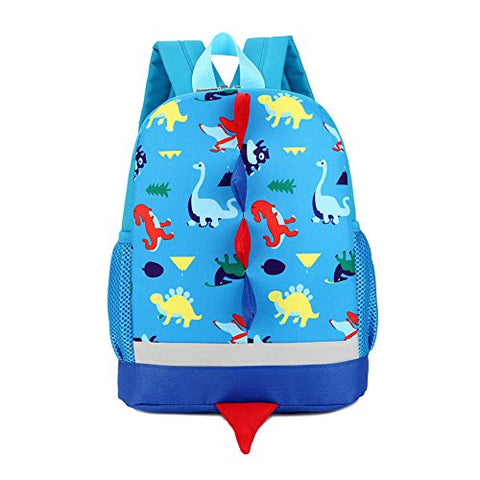 IMLECK Kid Toddler Backpack Dragon Dinosaur Backpack 3-6years