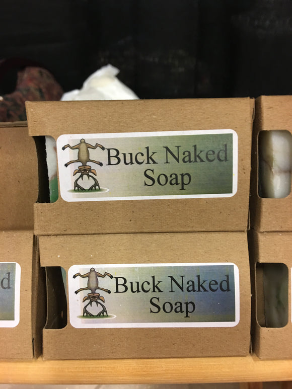 Buck Naked Hand Crafted Natural Soap