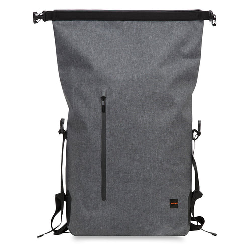 Cromwell Backpack 15.6 - Grey with 10K mAh Battery - Cromwell with 10K mAh Battery | KNOMO