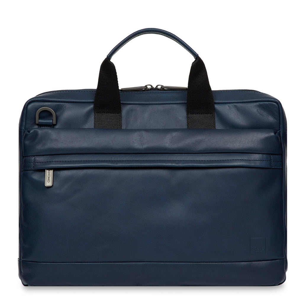 "Foster Leather Laptop Briefcase - 14"" -"