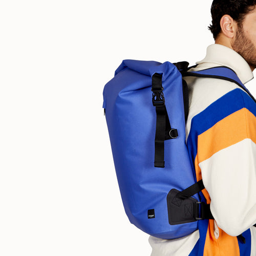 Roll-Top Laptop Backpack - 14