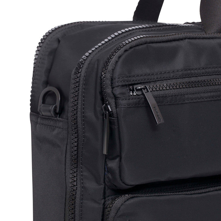 "Wilton Large Laptop Briefcase - 15.6"" -  Black"