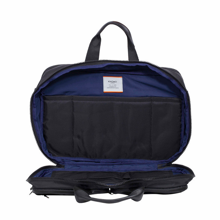 "Wilton Large Laptop Briefcase - 15.6"" -  Black 