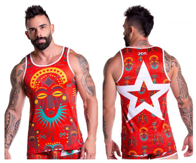 JOR 0747 Tribal Tank Top