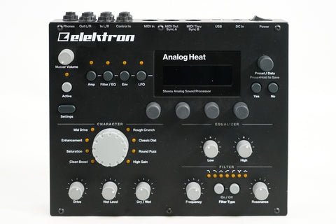 Elektron Analog Heat Distortion Processor