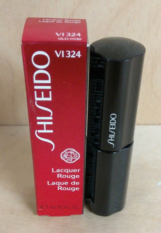 Shiseido Lacquer Rouge Lipstick VI324 Indiscreet 6ml/0.2oz - Online Shopping Fragrances, Perfumes & Makeup Airdamour.com