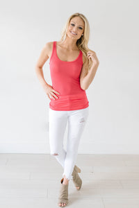 Melinda Ribbed Tank 2 Pack