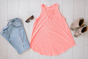 Sun's Out Tank In Coral