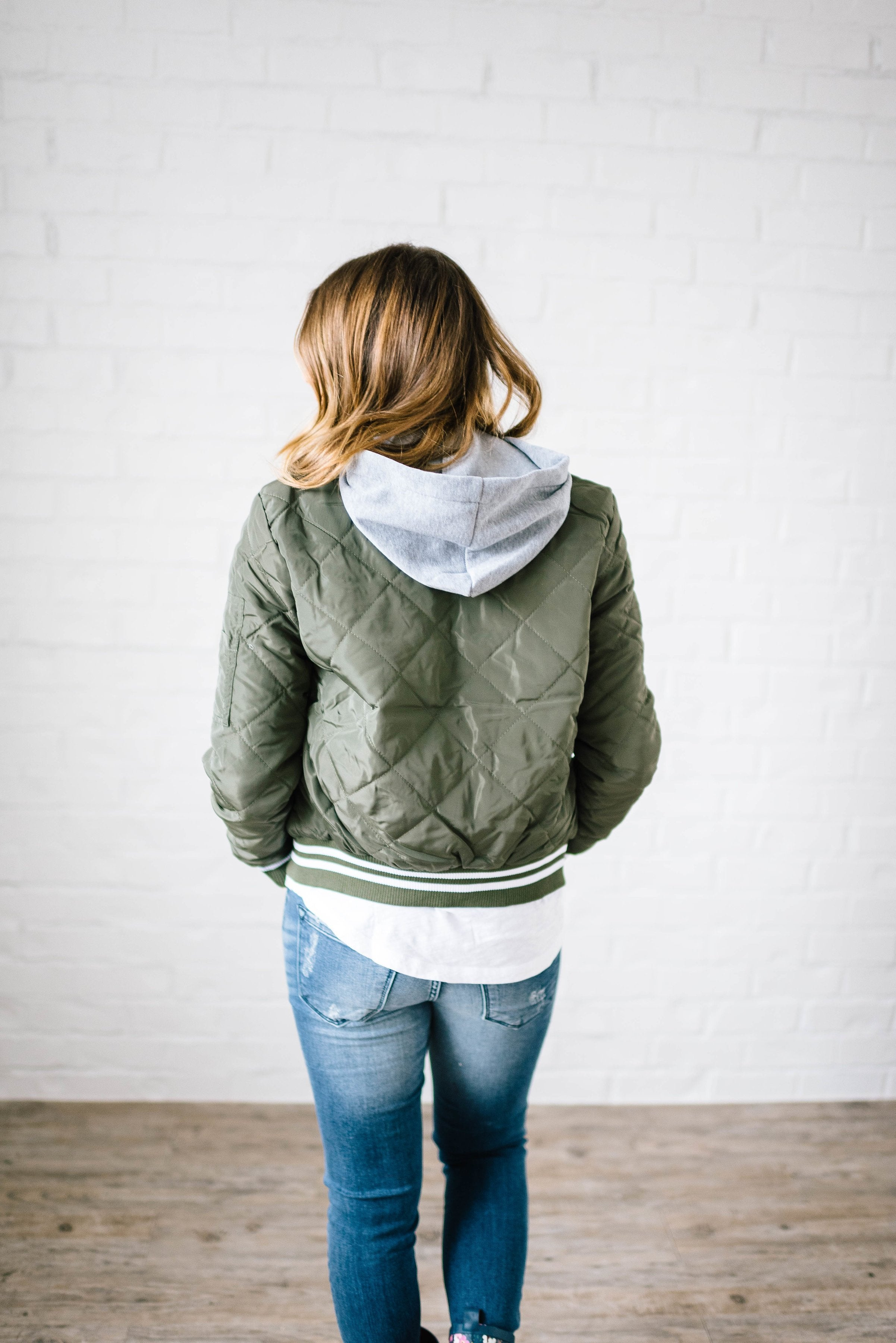 The Bomb Jacket in Olive