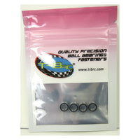 TRB RC 5x8x2.5mm Precision Ball Bearings ABEC 3 Rubber Sealed BLU (4) - trb-rc-bearings