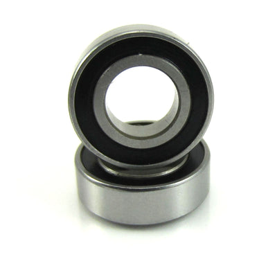 TRB RC 8x16x5mm Precision Ball Bearings Stainless Steel Rubber Sealed (2) - trb-rc-bearings
