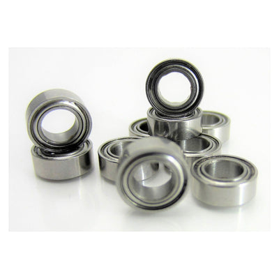 TRB RC (10) 4x7x2.5mm Precision Stainless Steel Ball Bearing, Fishing Reels - trb-rc-bearings