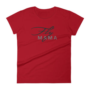 Women's Fly Mama Premium short sleeve t-shirt