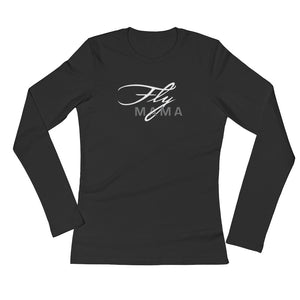 Fly Mama Ladies' Long Sleeve T-Shirt