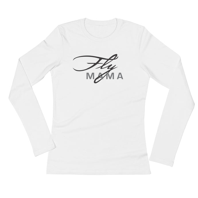 Ladies' Fly Mama Long Sleeve T-Shirt