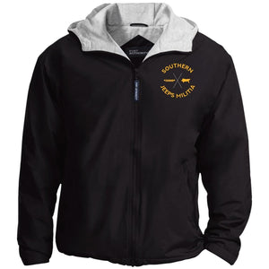 Southern Jeeps Militia gold embroidered logo JP56 Port Authority Team Jacket