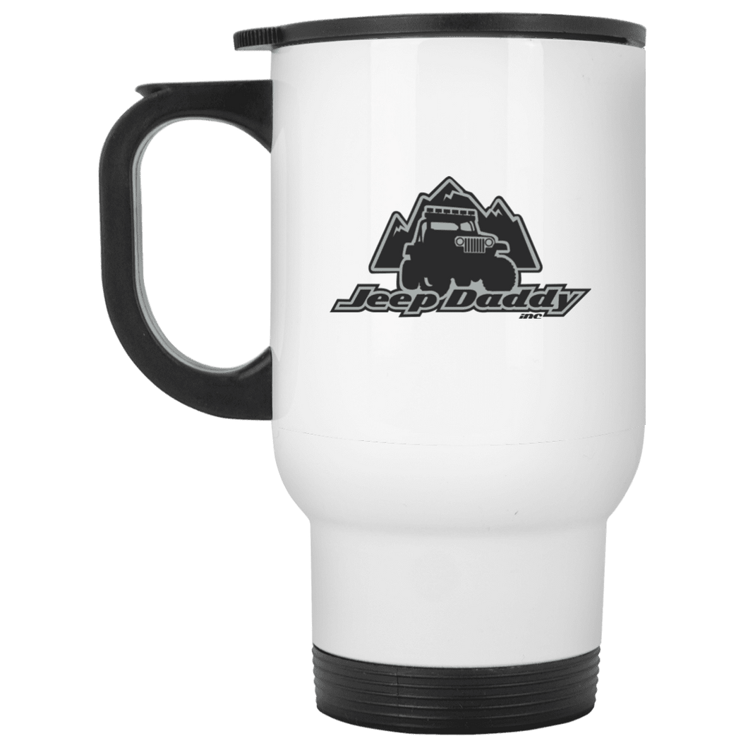 JeepDaddy White Travel Mug