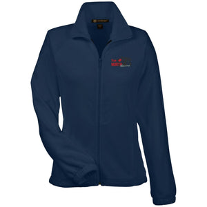 True North Racing embroidered M990W Harriton Women's Fleece Jacket