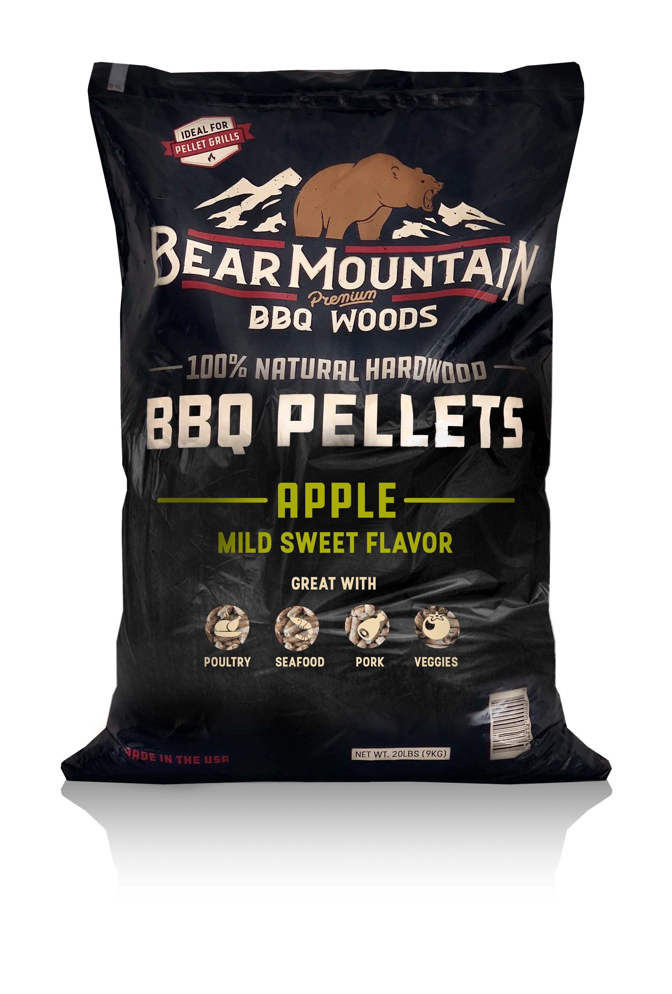 Bear Mountain BBQ® Apple BBQ Pellets