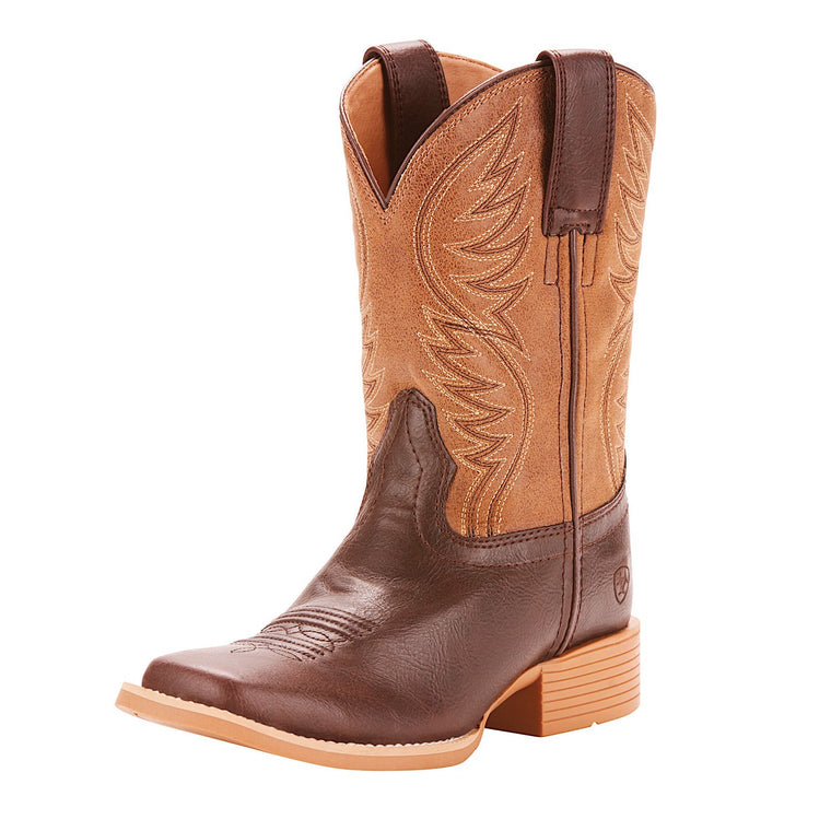 Ariat Kids Brumby Western Boot Fudgesickle/Tumblin Tan
