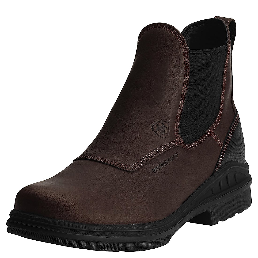 Ariat Mens Barnyard Twin Gore H20 Dark Brown