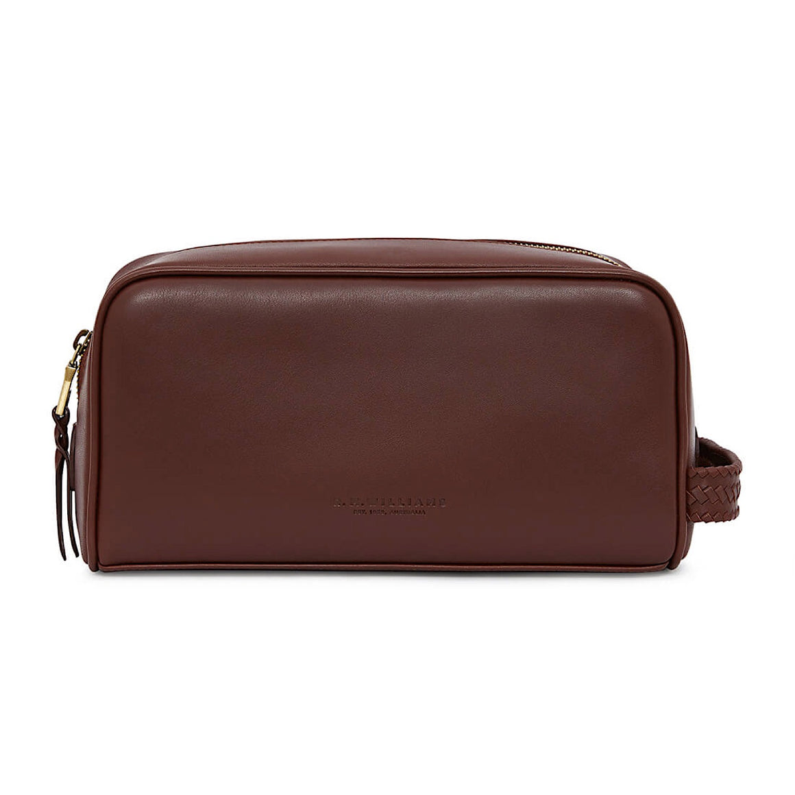 R.M.Williams City Wash Bag Chestnut