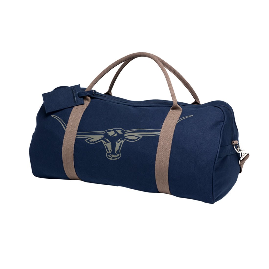 R.M.Williams Nanga Canvas Bag Navy/Silt