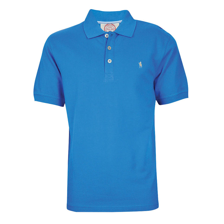Thomas Cook Mens Tailored Polo Blue