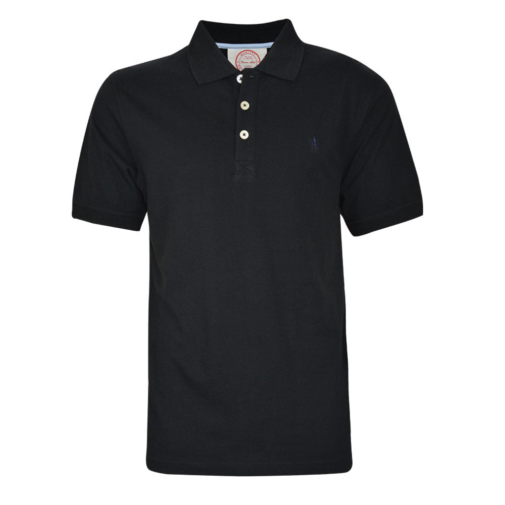 Thomas Cook Mens Tailored Polo Black