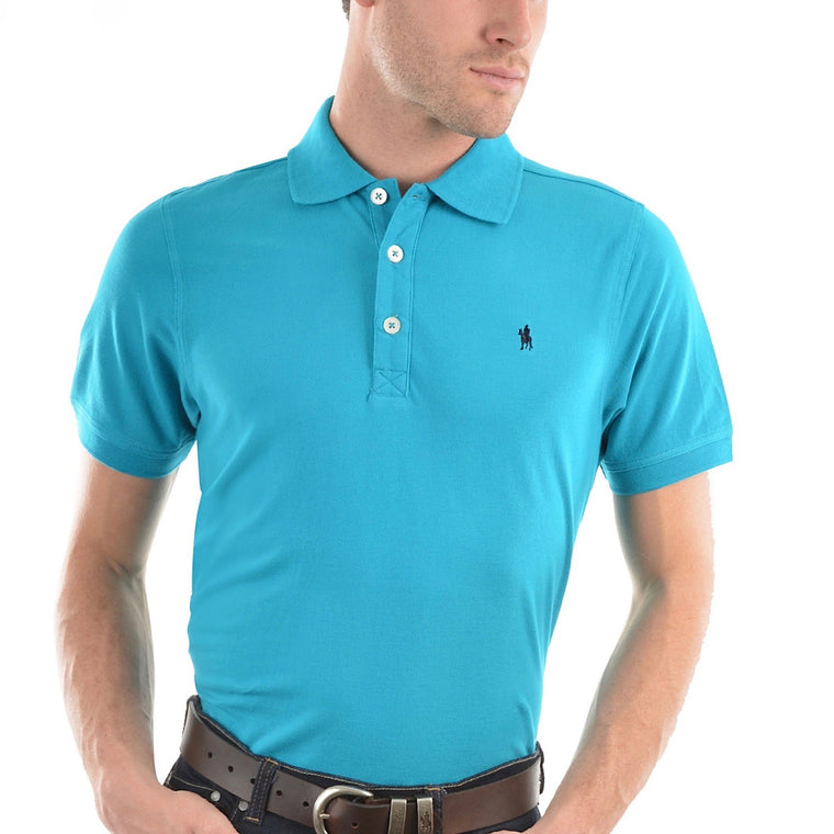 Thomas Cook Mens Tailored Polo Teal