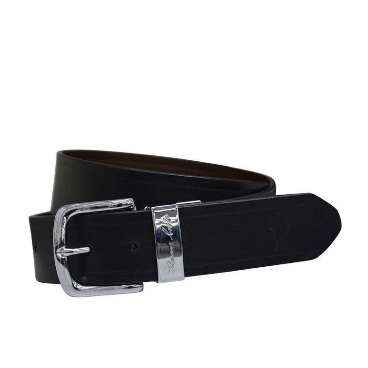 Thomas Cook Signature Reversible Belt Silver/Black/Brown