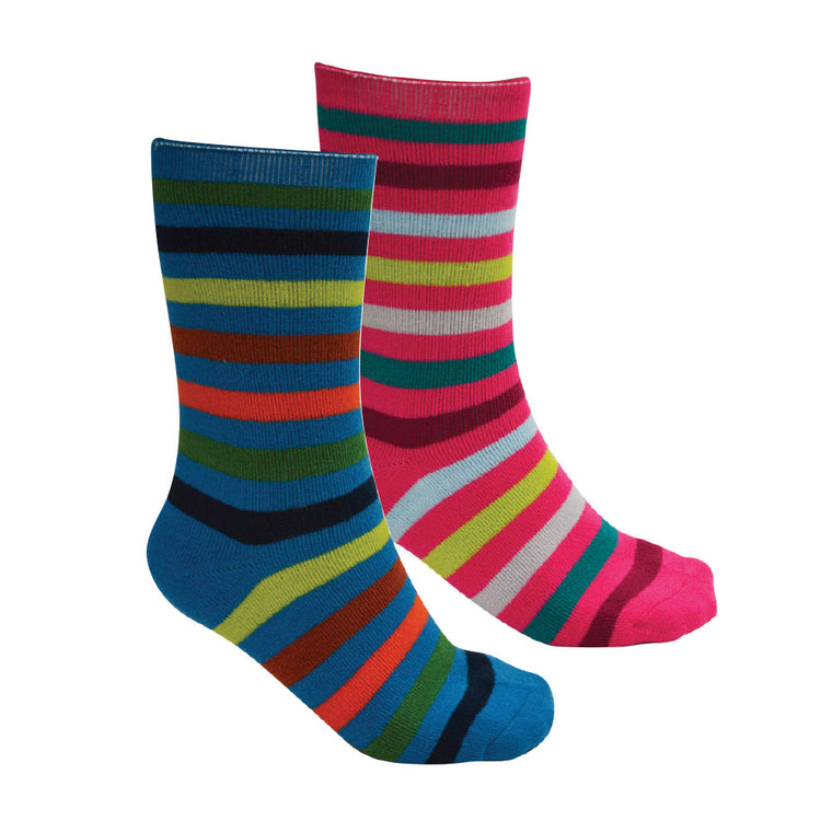 Thomas Cook Thermal Socks - Twin Pack Rio Mix