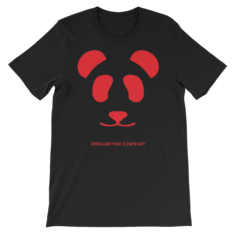 Big Panda Logo :: Men's Short Sleeve Black Tee