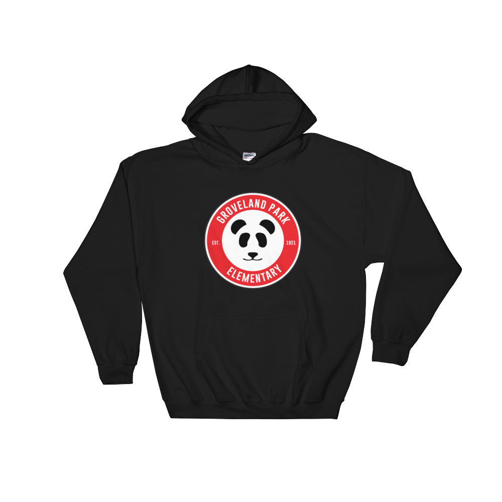 The Circle Logo :: Adult (Unisex) Black Hoodie