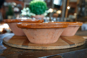 French Terracotta Bowls