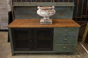 French Industrial Dresser