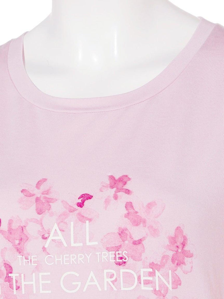 Cherry Blossom One Point Shirt (PWCT191225)