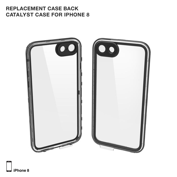Replacement Case Back for Waterproof Case for iPhone 8