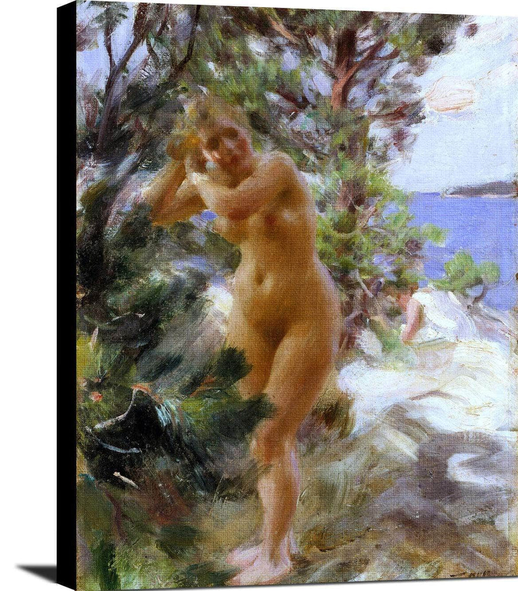 After The Bath Painting Anders Zorn Canvas Art