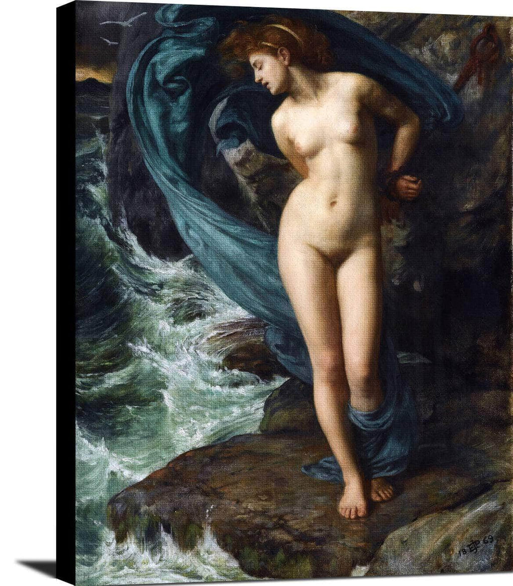 Andromeda Painting Sir Edward John Poynter Canvas Art