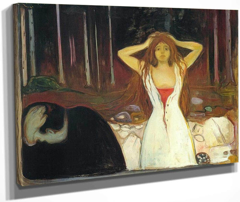 Ashes 1894 By Edvard Munch
