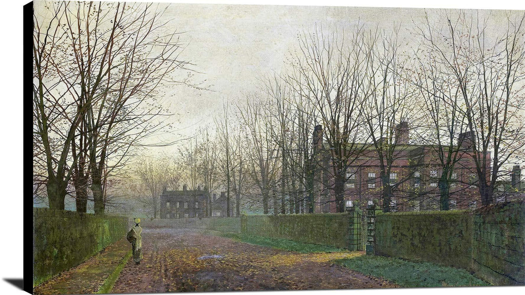 Autumn Afterglow Painting John Atkinson Grimshaw Canvas Art