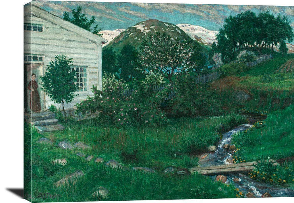 Early Summer In Jolster Nicolai Astrup